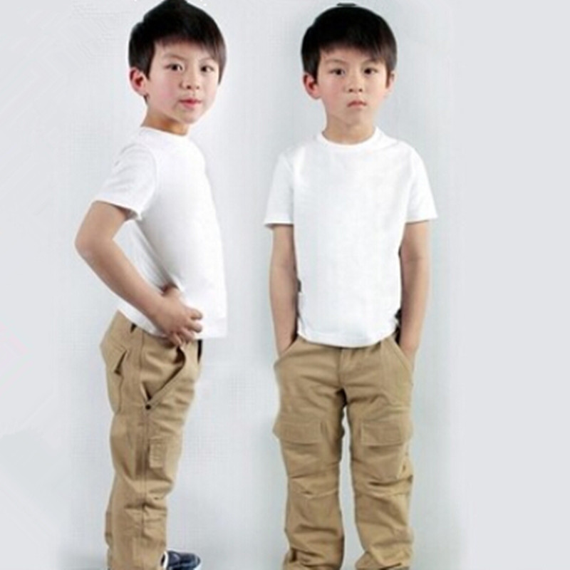 online buy wholesale plain white t shirts children from