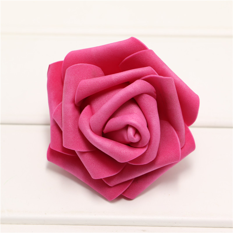 Handmade-100pcs-lot-Artificial-Foam-Roses-PE-Foam-Rose-Flower-Head-DIY-For-Wedding-Home-Festival