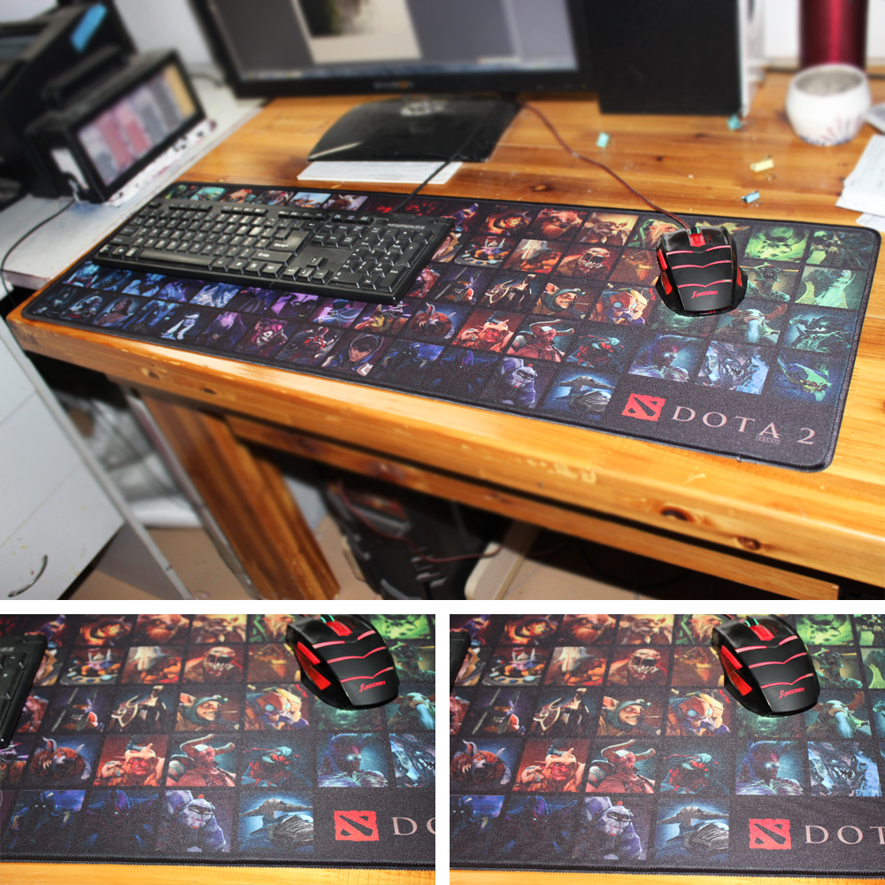 MaiYaCa 2018 Ny enkel designhastighed DOTA 2 Game MousePads Computer Gaming musemåtte Gamer Play Mats Version Mousepad