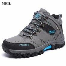 39-47 Winter Men Shoes Casual Plush Warm Brand Large Size