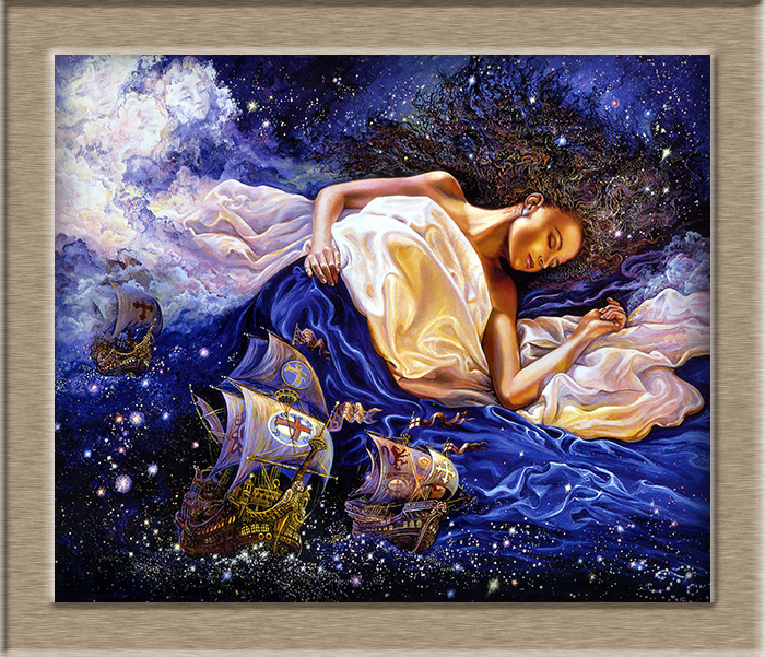 Online buy wholesale josephine wall prints from china josephine josephine wall astral voyage hd print oil painting wall painting wall art picture for living room voltagebd Image collections