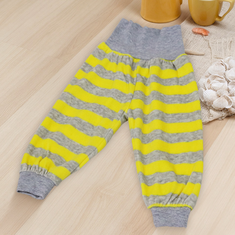 Velour Fabric Long Pants For About 2 To 3 Years Old Babies High Waist Boys And Girls Trousers Children Clothes Of Little Q