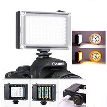 Ulanzi 96 LED Phone Video Light Photo Lighting on Camera Hot Shoe LED Lamp for iPhone Xs Max X 8 Camcorder Canon Nikon DSLR Live стоимость