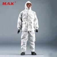 1/6 الذكور soildier الملابس البحرية الامريكية ختم الثلج الرقمية التمويه القتالية دعوى ل 12 بوصة عمل أرقام