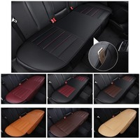 134x49cm Chair Breathable Pad Mat Cushion Cover Interior Universal fit Auto Car comfortable PU Leather removable Rear seat