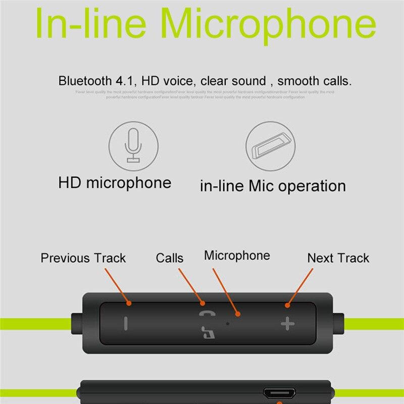 4.1 Bluetooth inalámbrico Auriculares Oreja Colgando Deporte Auriculares Estéreo