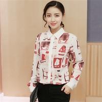 Blouse Plus Kimono Size Floral Chiffon Women Blouses Vetement 2018 Femme Women Tops Blusas Y Camisas Mujer
