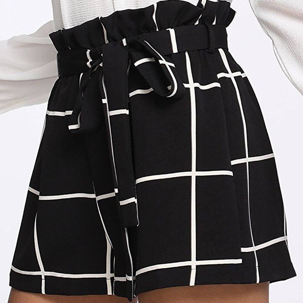 Billiger Preis Damen Mode 2018 Neue Shorts Frauen Plaid Mid Lose Taille Hot Shorts Hosen Jersey Mode Sommer Stil Shorts Harajuku Gepäck & Taschen
