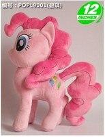 Piękny różowy pluszowy koń zabawka nadziewane konia doll Pinkie Pie pluszowe zabawki lalki prezent zabawka około 32 cm