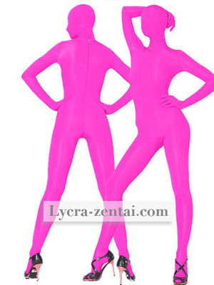 Pink Spandex Zentai Suit halloween cosplay Fullbody superhero costumes hot sale catsuit free shipping .