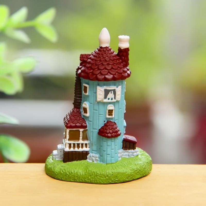 1pcs totoro pot jardin terrarium fairy garden home decor villa castle miniatures bonasi tool for Decoration jardin pot