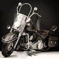 Negro de la motocicleta harley 2008 sucesor harley anniversary edition modelo de coche rueda 1:6 handmade toys caliente diecast metal de coches de juguete