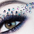 Eye shadow stickers cat eye makeup stickers affixed Art free shipping
