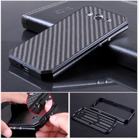 Luxury Metal Aluminum Frame Carbon Fiber Back Cover Original Mobile Phone Cases For Samsung Galaxy S3