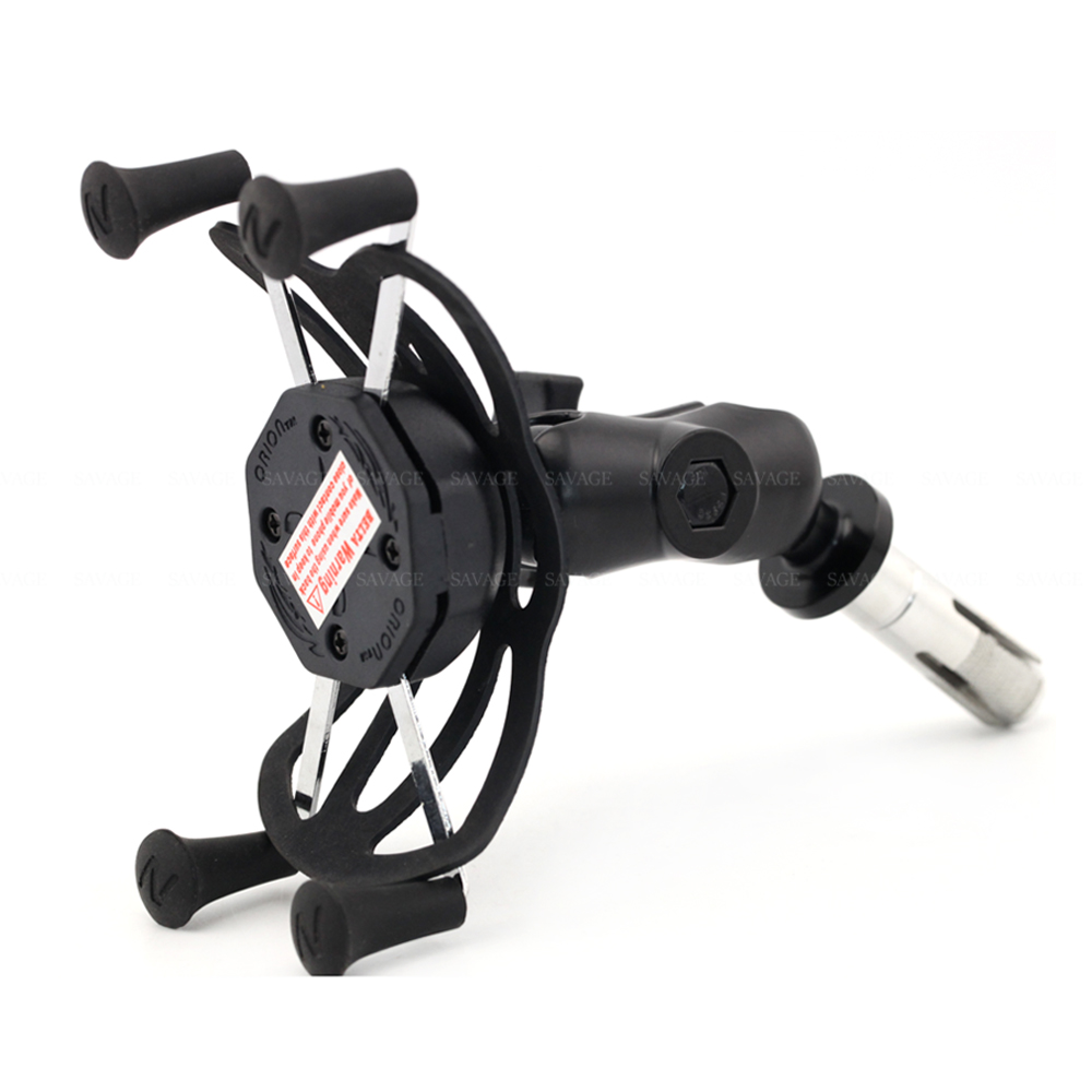 Х-сцепление держатель телефона для Suzuki GSXR 600/750 GSXR600 GSXR750 06-17, 09-16 GSXR1000 мотоцикл GPS навигация Кронштейн 16-19мм