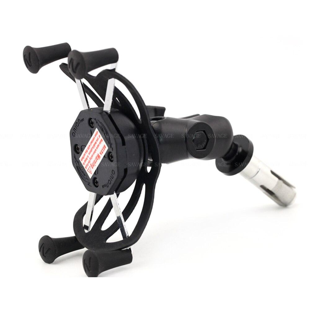 X Grip Phone Holder For SUZUKI GSXR 600/750 GSXR600 GSXR750 06 17, GSX R 1000 03 04/ 09 16 Motorcycle GPS Navigation Bracket