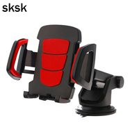 SKSK Universal Car Phone Holder Easy One Touch with Strong Stick Suction Cup Gps Support Car Phone Mount