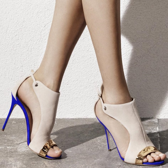 ФОТО Designer Color Block Dress Sandals High Heels Open Toe Women Sandal Thin Heel Fashion Gladiator Sandal
