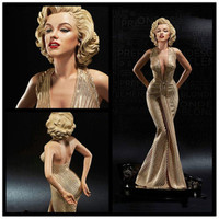 American Actress Marilyn Monroe 1/4 Full Length Portrait Resin Statue Action Figure Collection Model Toy X241