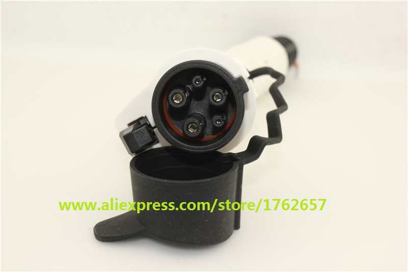 32A SAE J1772 Type 1 Duosida Dostar female male EV PLUG connector for electric car charging charging station AC EV charger plug [abb] industrial connector plug 432p6w 32a five mobile industry