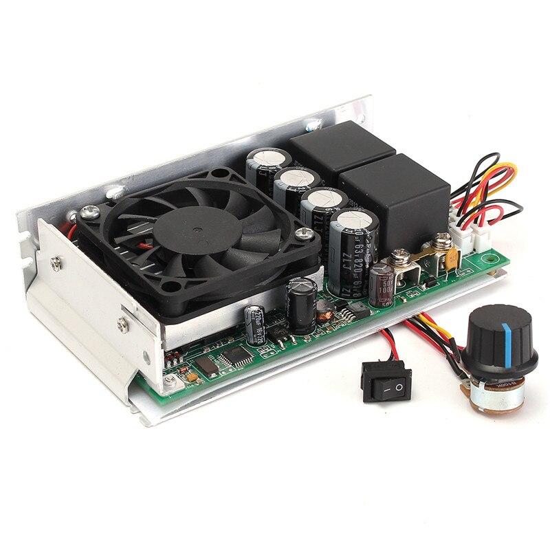 10-50V 100A 3000W Programable Reversible DC Motor Speed Controller PWM Control New Arrival motor speed controller regulator programable reversible pwm motor speed controller dc10 50v 100a 3000w