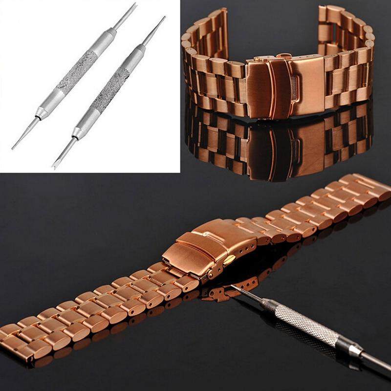 1 Pc Silber Metall Armband Multifunktionale Uhr Band Opener Strap Ersetzen Frühling Bar Anschluss Pin Remover-tool Reparatur Werkzeuge