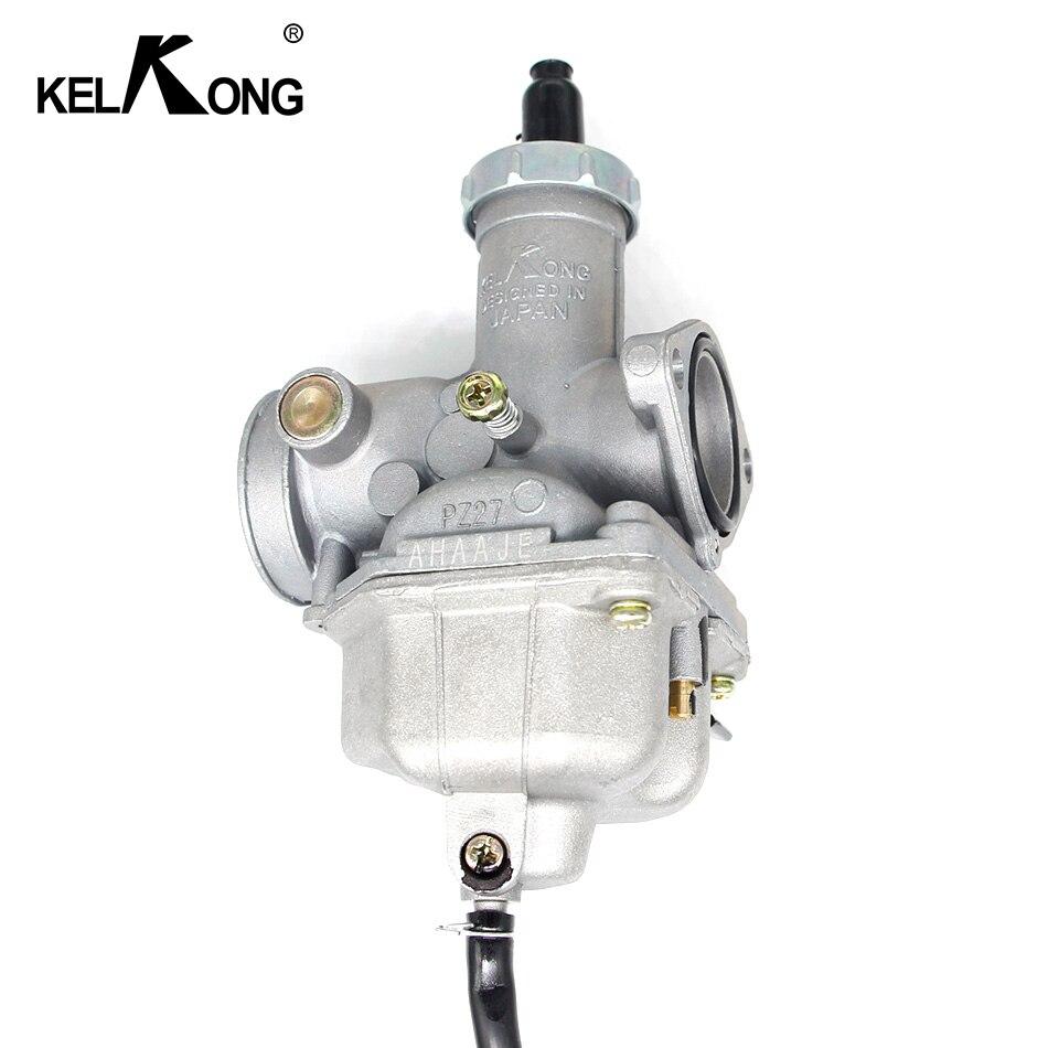 Image 3 - KELKONG Carburetor For Keihin PZ27 Motorcycle Carburetor Carburador Used For Honda CG125 Model Motorbike Dirt Bike Quad ATV-in Carburetor from Automobiles & Motorcycles