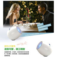 10pcs WHOLESALE 256 Colors Living Color Light LED Lamp Mood Light for party Touchscreen scroll bar USB White