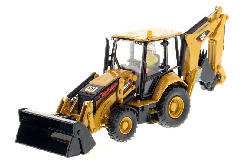 DM 85233 1 50 CAT420F2 IT Backhoe Loader toy