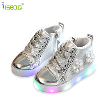 glowing sneakers,Shoes for girls,children led shoes,sneakers with luminous sole,children's tennis,kids shoes 13M-5.5Y 2018 new usb illuminated krasovki luminous sneakers glowing kids shoes children with sole led lights up sneakers for girls