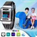 1 UNID Deporte Reloj despertador Niños reloj de pulsera Correa de Caucho Led Digital Reloj digital cuadrado Moda casual X3