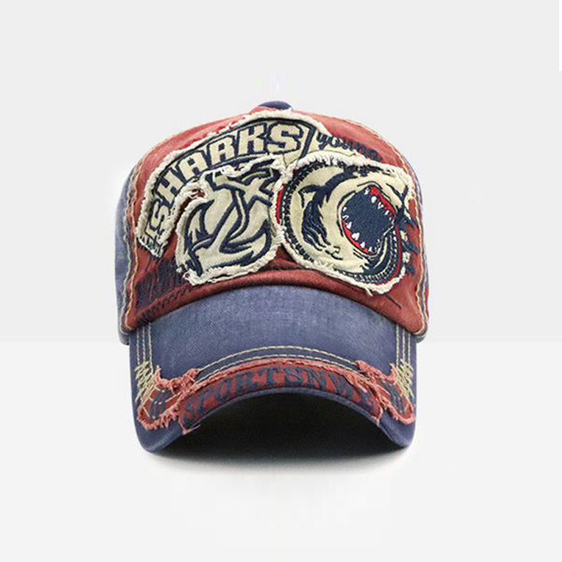 0b0a17f1bb2 Yienws Bones Trucker Hats for Men Vintage Wash Baseball Caps Man Old Worn  Patch Five Panel Cap Bone Jeans Chapeau YIC664-in Baseball Caps from  Apparel ...