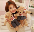 40CM Stuffed Soft Plush Toys Teddy Bear Toys Lovely Couple Teddy Bear Dolls Children's Gifts Girls Gifts Factory Price