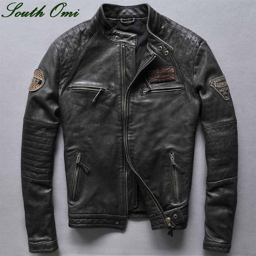 Popular Leather Jackets Retro-Buy Cheap Leather Jackets Retro lots ...