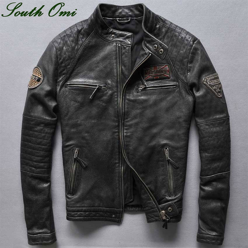 Online Get Cheap Retro Leather Jackets for Men -Aliexpress.com ...