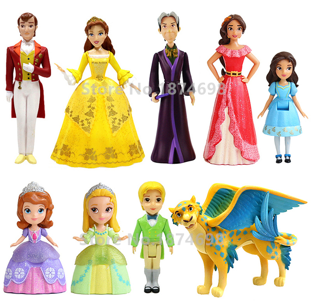 Toys Elena Sofia : Pcs sofia the first princes amber prince jame elena