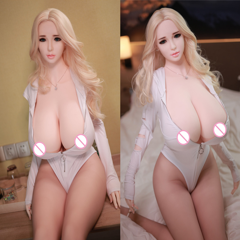 Jellynew Silicone <font><b>Sex</b></font> Doll 170cm Life Size Love Dolls For Men Sexdoll Big Breast Huge <font><b>Hip</b></font> <font><b>Sex</b></font> Puppe Realistische Adult Toys image
