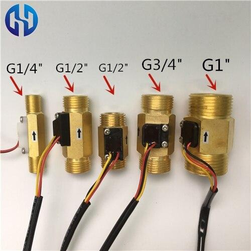 -BG1-4 water brass hall flow rate sensor meter (29)