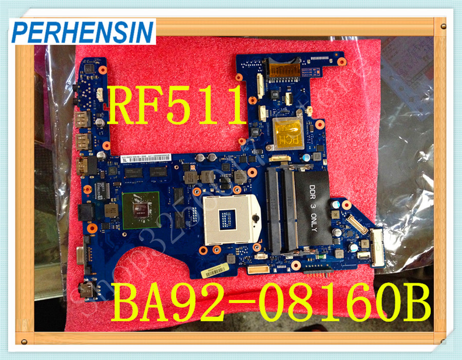 For Samsung RF511 Laptop Motherboard GT540M 1GB BA92-08160A BA92-08160B 100% WORK PERFECTLYFor Samsung RF511 Laptop Motherboard GT540M 1GB BA92-08160A BA92-08160B 100% WORK PERFECTLY