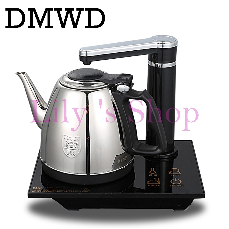 DMWD Intelligent household water heating kettle automatic electric kettle Mini Stainless Steel Teapot Water Dispenser boiler 1L cukyi household electric multi function cooker 220v stainless steel colorful stew cook steam machine 5 in 1