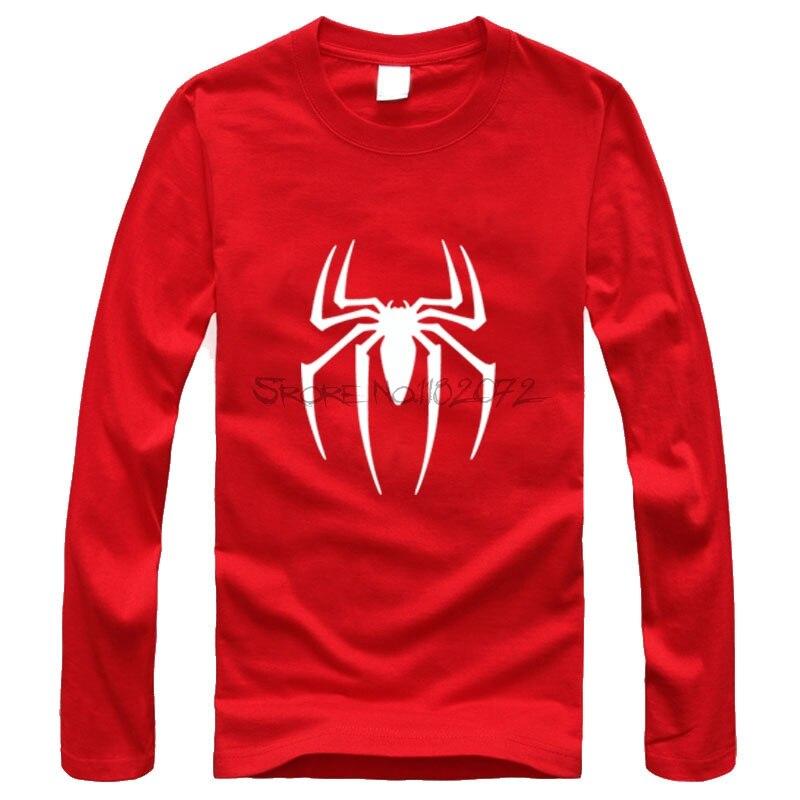 8f2b9f96 New Spider-man Long sleeve T-shirt Men Black Superhero T Shirt Spiderman  Tee Top Teenage Boy Tshirt The Avengers Clothing
