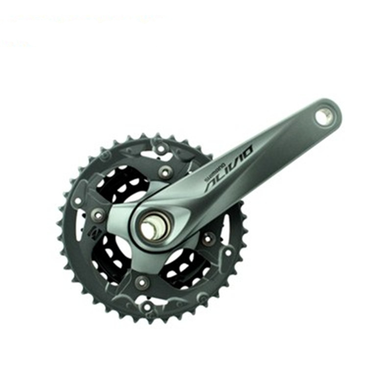 Shimano Alivio m4050 Crank Crankset FC-M4050 with BB52 HollowTech bicycle parts калипер shimano m4050 гидравлический post mount без адаптера ebrm4050mpr