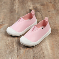 2017 New Fall Girls Pink Shoes Leather Baby Toddlers Moccasins Boy White Shoes Slip On Loafers