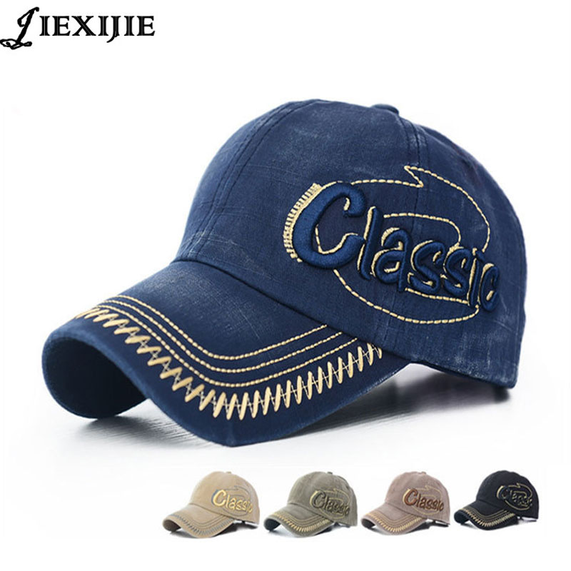 embroidery sun hat gorras snapback caps man cotton baseball cap for men's washed old hat retro letters hats bone caps jxj291 feitong summer baseball cap for men women embroidered mesh hats gorras hombre hats casual hip hop caps dad casquette trucker hat