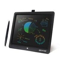 NEWYES ЖК-планшет 15 дюймов цифровой рисунок электронный почерк коврик сообщение графика доска для Письма Радуга-цвет