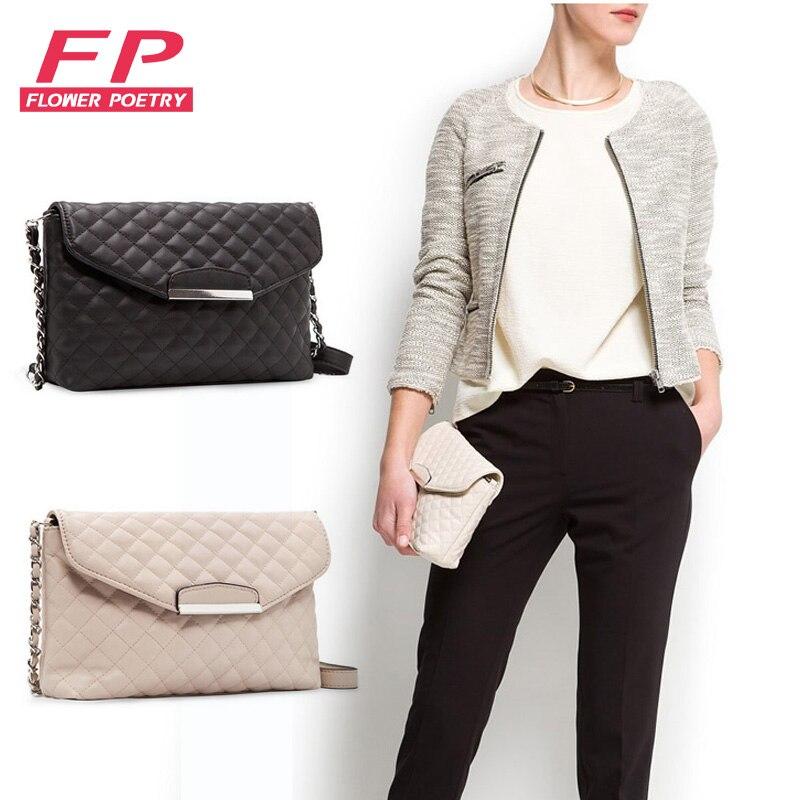 Women Shoulder Bag Leather Chain Crossbody Bags For Women Envelope Women Clutch Bag Handbags High Quality Black Designer Purse
