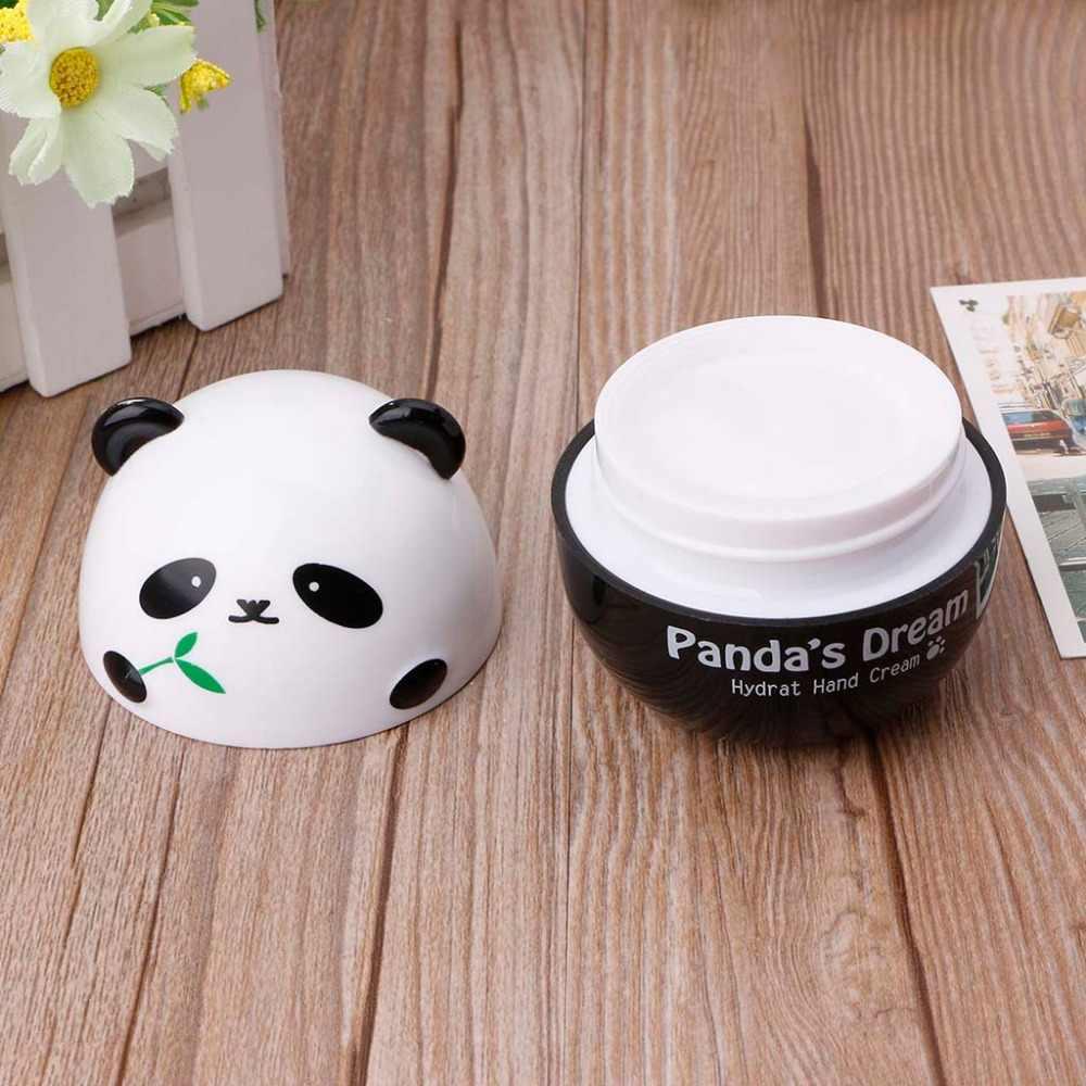 Zlrowr panda forma creme de mão para elevador endurecimento hidratante nutritivo esfoliante