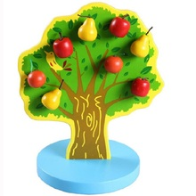 Challenging Educational Tree Shaped Wooden Montessori Game