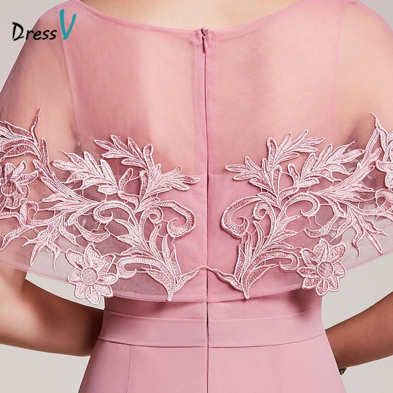 Dressv դեղձի երեկոյան զգեստ էժանագին - Հատուկ առիթի զգեստներ - Լուսանկար 6