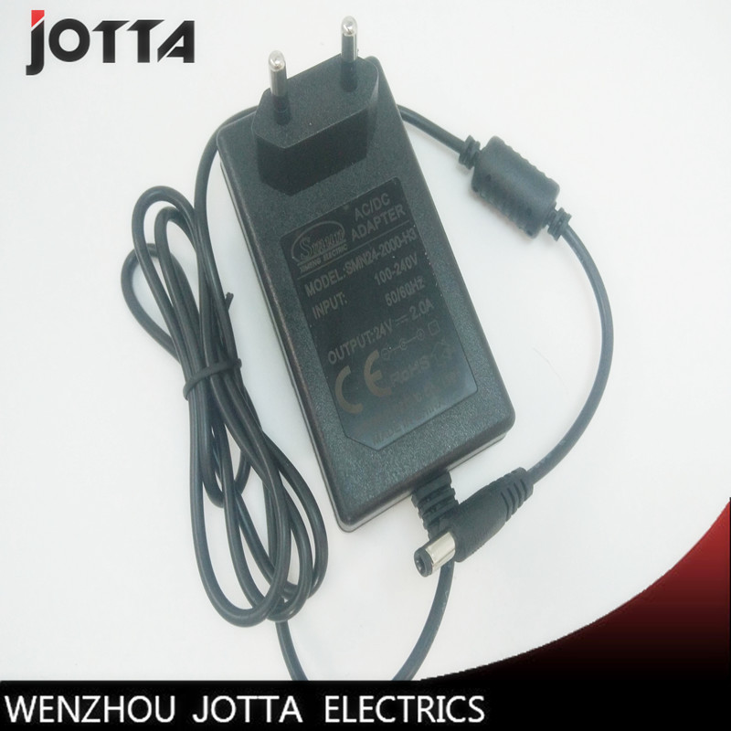 AC 100-240V to DC 12V 1A/24V 2A EU Plug AC/DC Power adapter charger Power Supply Adapter for Led Strips Lights